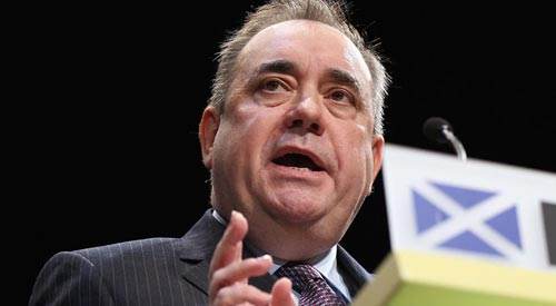 Pro-gay marriage First Minister of Scotland Alex Salmond resigns