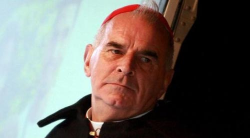 Disgraced cardinal to leave Scotland following gay sex revelation