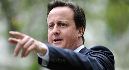 Cameron slammed over gay marriage omission from Queen's Speech