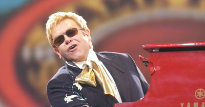 Elton John bust-up: 'Synthetic children' fashion designers backtrack