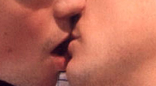Mass kiss-in after supermarket tells gay couple to stop kissing