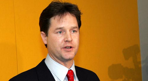 Same-sex marriage vote is 'a landmark for equality', says Nick Clegg
