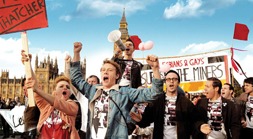 LGBT-interest film Pride, now showing across the Midlands, scores a hit with the critics