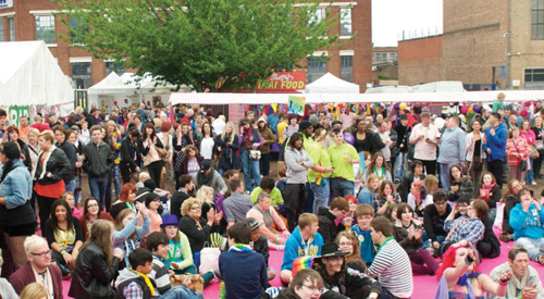 Organisers in bid to encourage more families and older visitors to Pride