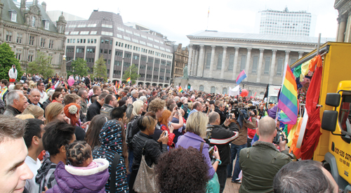 Peter Tatchell to lead Equal Love Parade at Birmingham Pride
