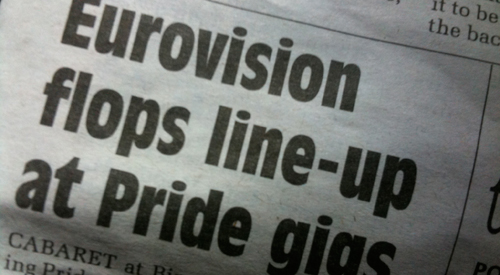 VIDEO: Pride hit out over newspaper slur