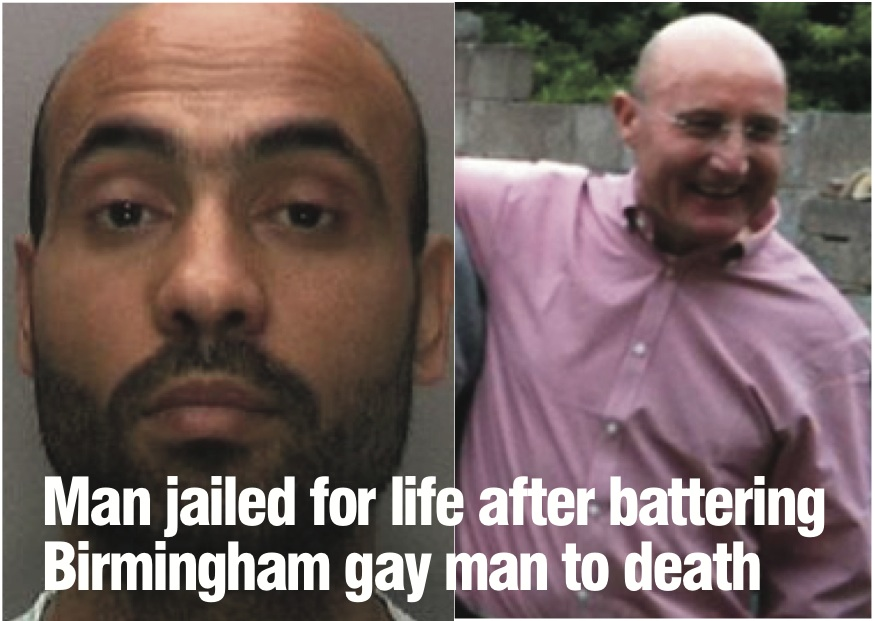 Killer jailed for life after attack on Birmingham gay man