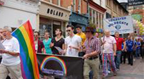 Leicester Pride announces theme for 2012 event