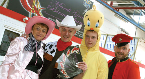 Lease terminated at car park and fancy dress shop