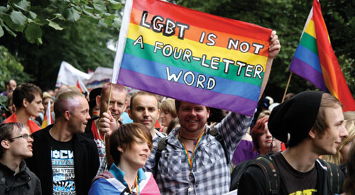 Nottinghamshire Pride taking place today