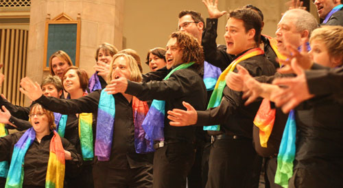 LGBT choir unveils new exhibition to celebrate its 20th anniversary