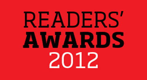 Finalists revealed in Zone's Readers' Awards 2012