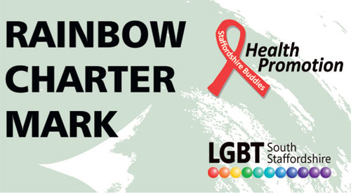 Staffs Charter Mark launched for LGBT healthcare providers