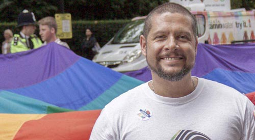 Leicestershire man nominated for top 'LGBT role model' national award