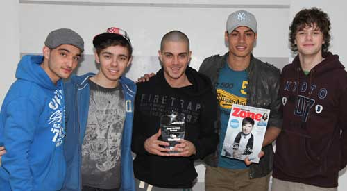 The Wanted scoop Best British Band in gay awards
