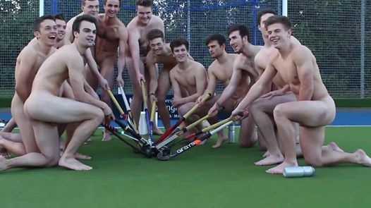 Nottingham male hockey team take a stand against homophobia