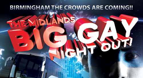 Birmingham gets ready for The Midlands Big Gay Night Out
