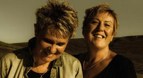 Lesbian music duo While and Matthews back in Birmingham