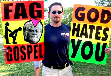 Rainbow Laces Campaign takes on US God Hates Fags Westboro Baptist Church