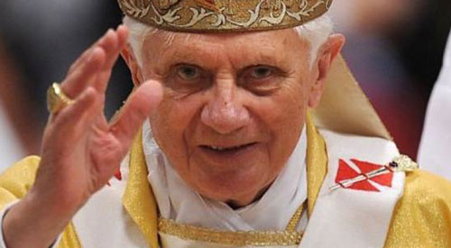 Anti-gay Pope Benedict resigns as head of Catholic Church