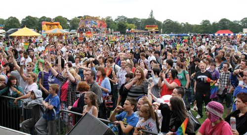 Leicester Pride taking place this weekend