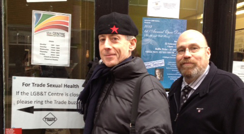 Leicester's LGBT Centre welcomes Peter Tatchell to the city