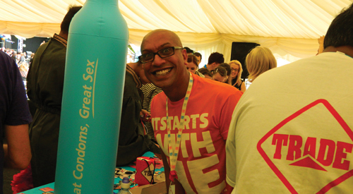 Trade Sexual Health celebrate success at Leicester Pride