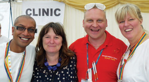 Record number of sexual health screenings at Leicester Pride