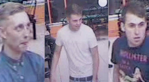 Police release CCTV stills of homophobic assault in Worcester