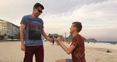 Olympian Tom Bosworth proposes to boyfriend at Rio games