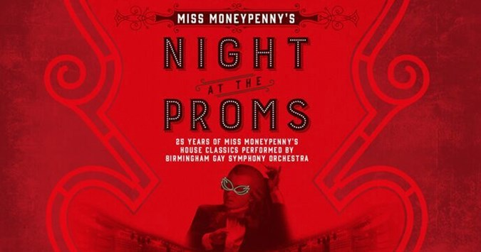 Miss Moneypenny's 'Night at the Proms' with BGSO close to selling out!