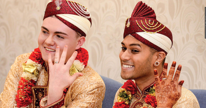 UK's 'first' gay Muslim wedding takes place in Walsall