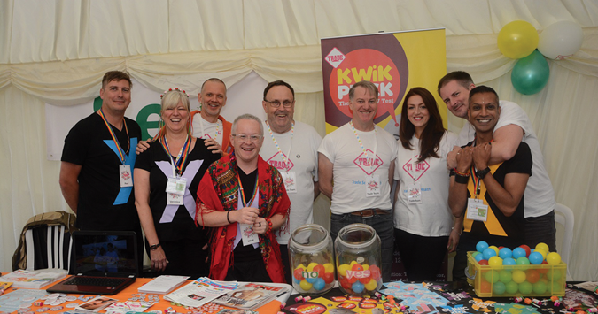 Trade Sexual Health to offer pop-up testing at this year's Leicester Pride