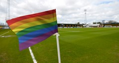 Football league clubs to display rainbow corner flags