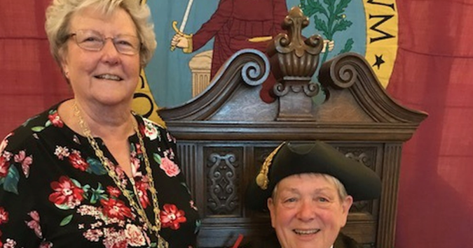 First gay mayor sworn in for Shropshire town