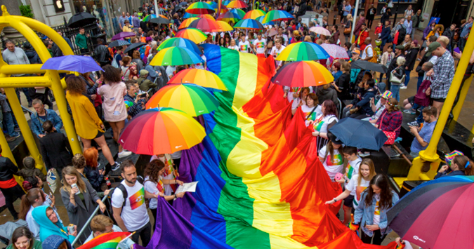 Biggest ever Carnival Parade for Birmingham Pride's 21st Anniversary