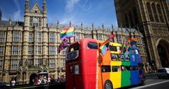 London Pride parade is one of the smallest in the western world