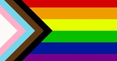 Pride flag given a reboot