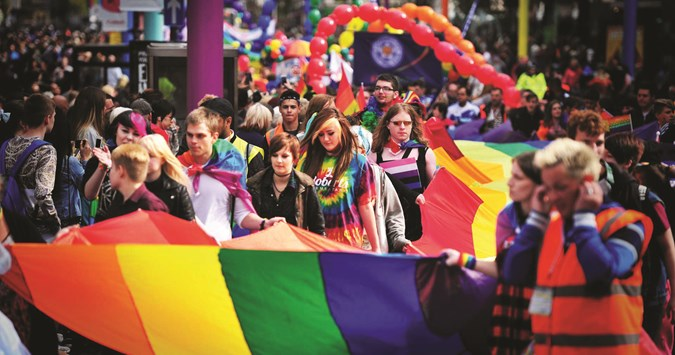 Leicester Pride's 10th anniversary makes for a proud day out!
