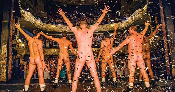 Stripped Bare: The Full Monty returns to the Midlands