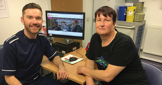 Birmingham LGBT offer trans sexual health service