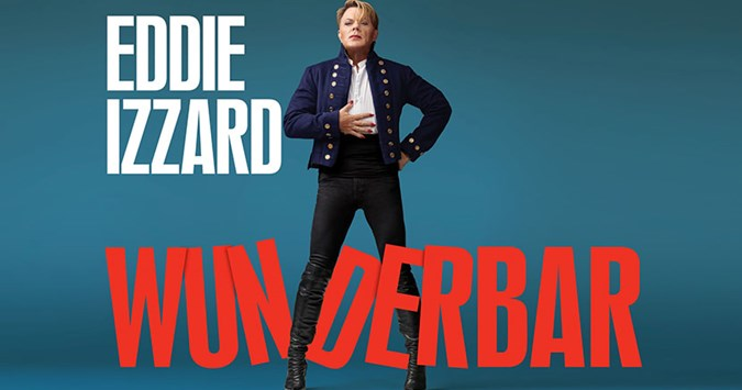 Eddie Izzard to bring his Wunderbar tour to the Midlands