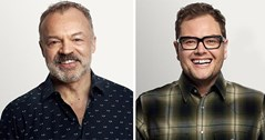 Alan Carr and Graham Norton to SLAY!