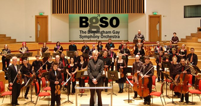 Birmingham's gay symphony orchestra in concert today