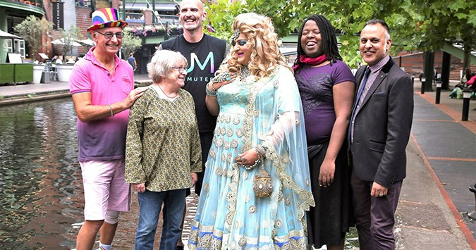 Ageing With Pride set for 'big campaign climax' at Birmingham Pride