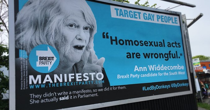 Billboard featuring anti-LGBT quote to be taken down