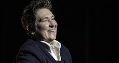 k.d. lang sends message of support to primary school teacher Andrew Moffat