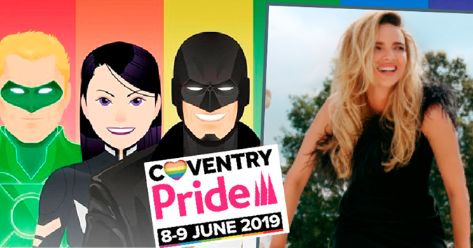 Nadine Coyle to headline Coventry Pride