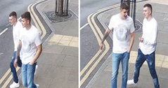 Nottingham: CCTV images released after homophobic comment and jaw-breaking attack