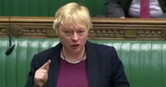 Equality lessons row: Gay Labour MP Angela Eagle in tears as she stands up for LGBTs